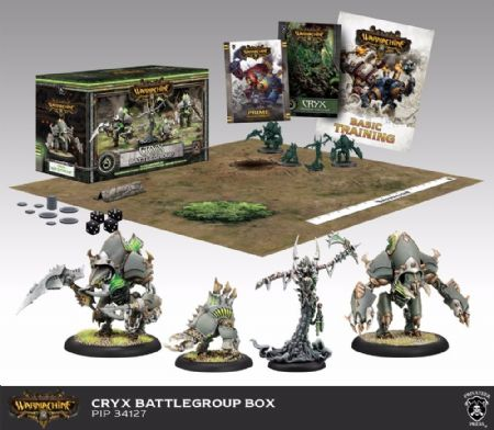 Cryx BATTLEGROUP (4) MK III